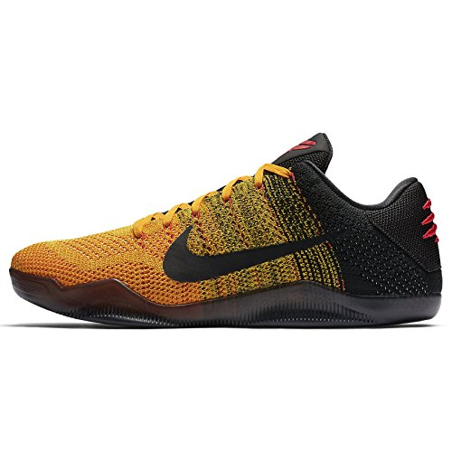 d6e045f79b1 Nike Kobe XI Low 822675-706 Gold Black Red Men s Basketball Shoes ...