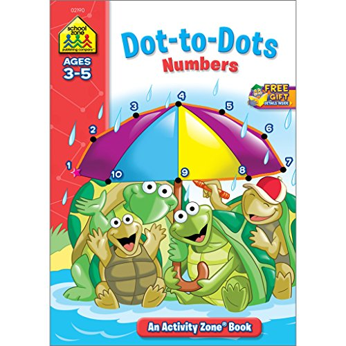 dot to dot numbers activity zone ages 3 5 - Activity Books For 4 Year Olds