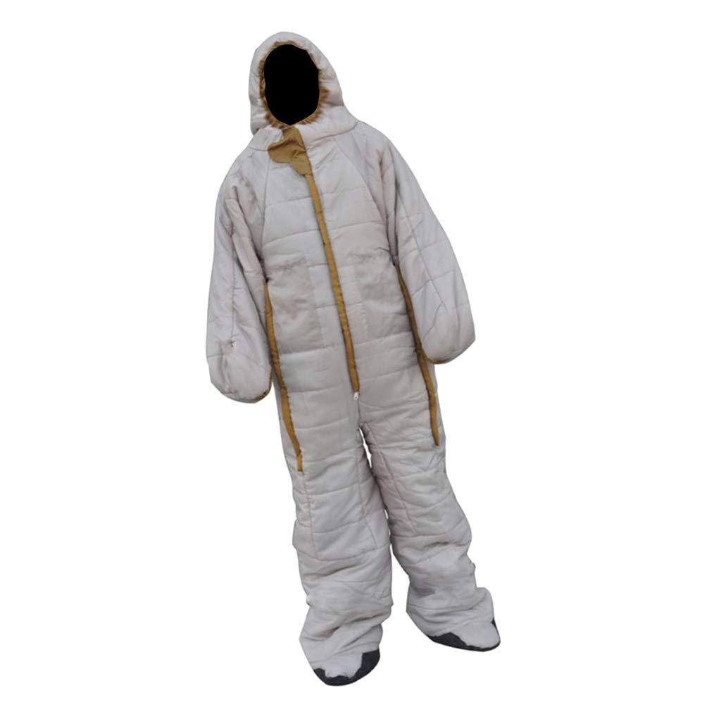 IPOTCH Premium Schlafsack mit Armen und Beinen