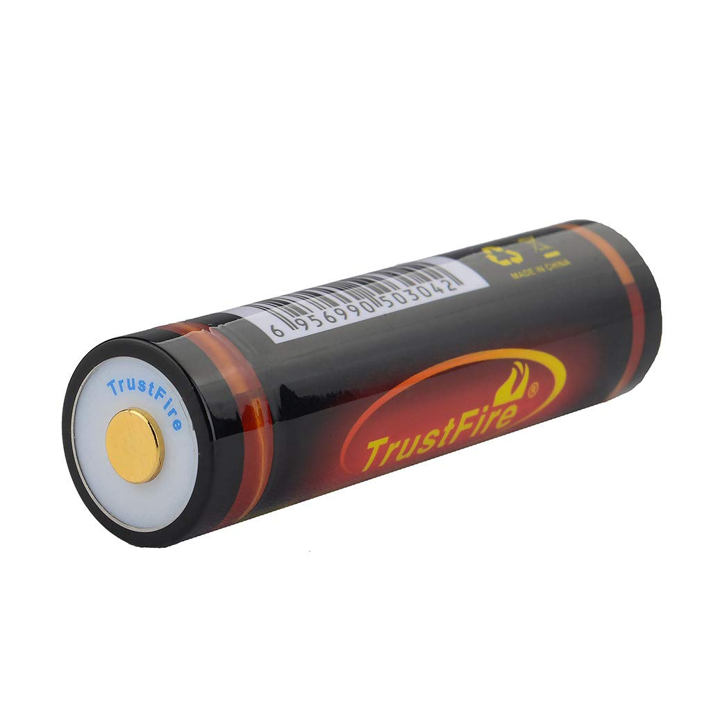 Button top 18650 Rechargeable Battery USB Charged 3.7V 3400 mAh Li-ion Batteries