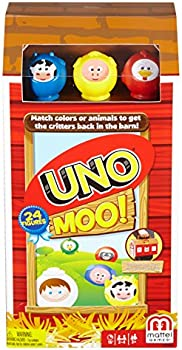 Mattel Uno Moo Card Game