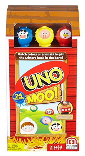 Uno Moo Card Game