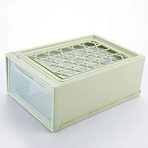 Axiba Cajas de almacenaje Caja plástico cajón de Ropa Interior Tipo Ropa Interior Calcetines Almacenamiento Caja 37 * 25 * 14 cm: Amazon.es: Hogar