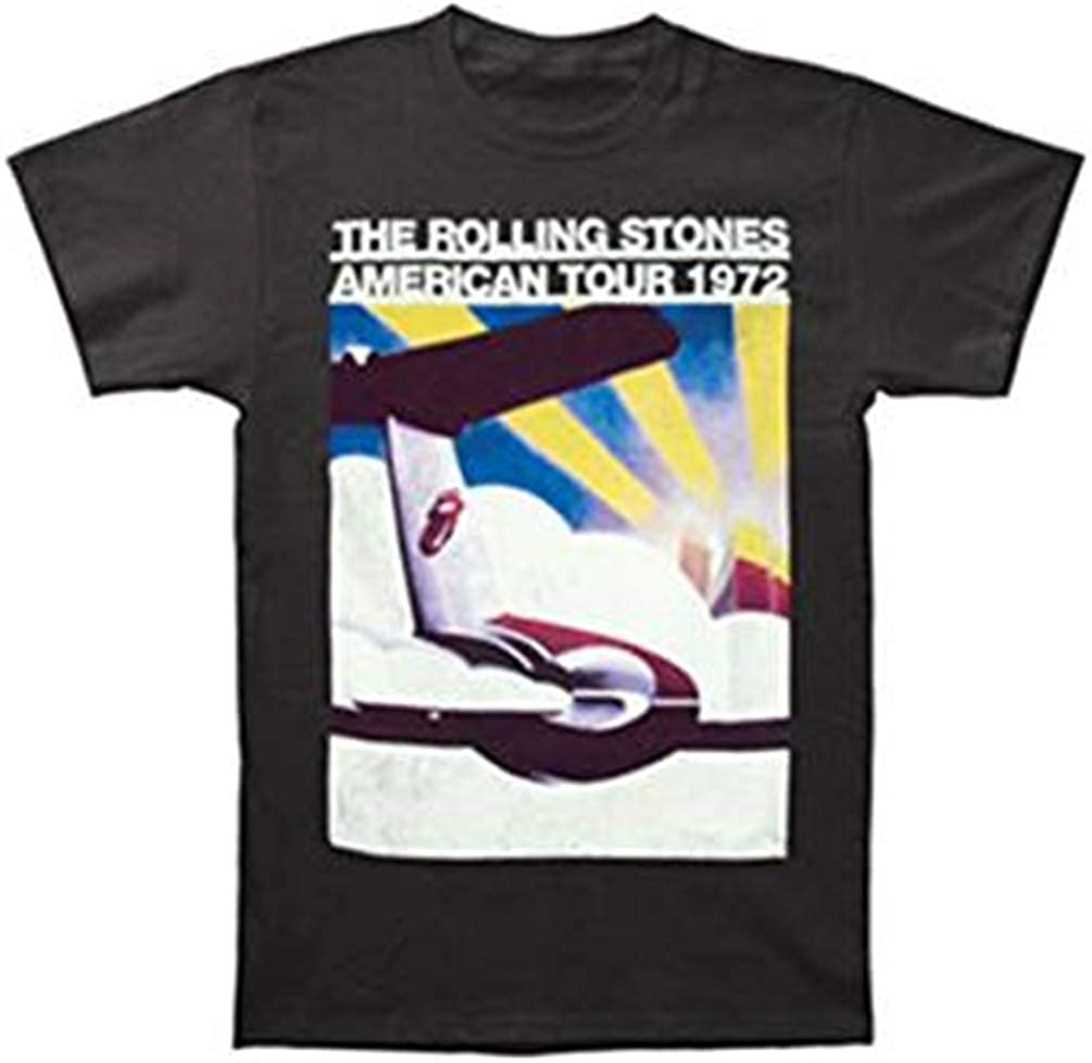 The Rolling Stones US Tour Plane - Camiseta de Manga Corta para ...