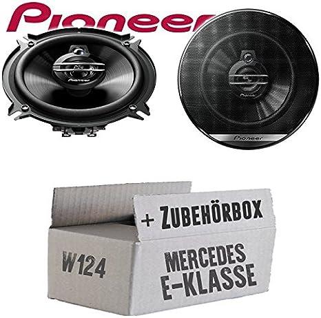 Mercedes W124 Limo Heck Lautsprecher Boxen Pioneer Ts G1330f 13cm 3 Wege 130mm Triaxe 250w Auto Einbausatz Einbauset Navigation