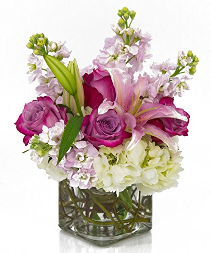 TGIF by Breen's Florist - Pink and Lavender Hand Delivered Fresh Flowers