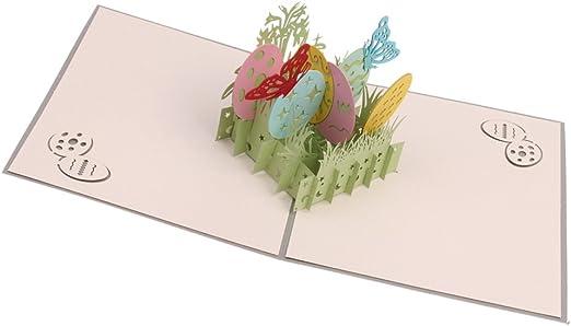 4 3d Karte Grußkarte Osterkarte Ostern  viele verschiedene Motive Nr