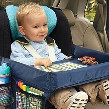 Children Baby Infant Car Seat Tray Storage Organizer Kids Toy Holder Desk Stroller Board Waterproof Table
