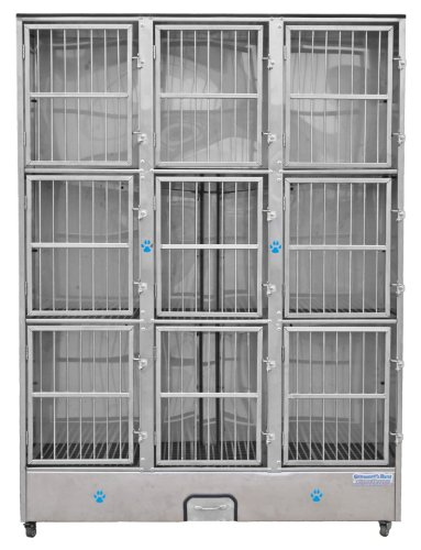 - Groomer's Best 9-Unit Cage Bank