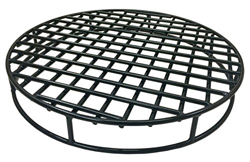 e Round 29.5'' Diameter - Premium Heavy Duty Steel Grate for Outdoor Firepits - Above Ground Fire Grate ()