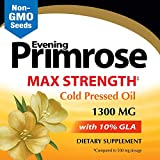 Image of Nature's Way Evening Primrose, Efa Gold Cold Pressed Oil 1300mg, 120 Softgels