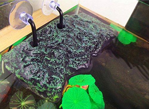Turtle Floating Island Platform Crawler Sun Roof PU Foam Aquarium Float Decoration Bask Terrace Climb by Corner Biz Aquarium (Image #6)