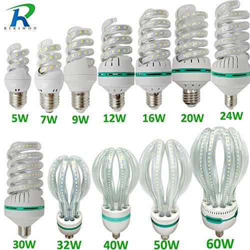 Amazon.com: LED Bulbs SMD E27 Light Lamp 220V Smart IC Real Power Brightness Lampada LED Bombilla for Home Decoration LED Bulb: Home & Kitchen