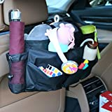 vaccume toy - MRCARTOOL Car Back Seat Universal Large Storage Bag Multi-Functional Store Kids Toy Book Drinks Auto Repair Tools Travel Accessories Holder 7 Pockets Car Multi-Pocket Tidy Storage Bag for Car SUV,Kids