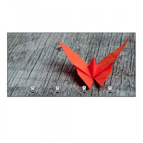 banjado - buzón de Pared (80 x 40 x 5 cm) Origami Mariposa ...