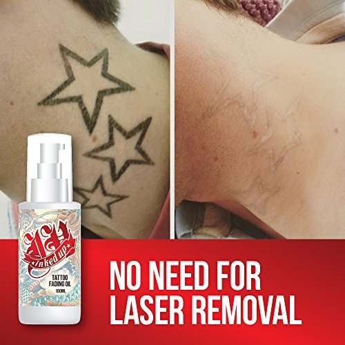 INKED UP TATTOO FADING OIL – NO NEED LASER