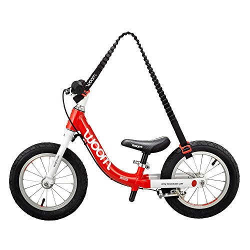 woom Balance Bike Carrier – Hands Frei, Red/Black