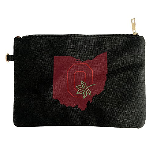 ohio-state-buckeye-leaf-canvas-zipper-pouch-pencil-case-make-up-bag-cell-phone-bag-travel-toiletry-o