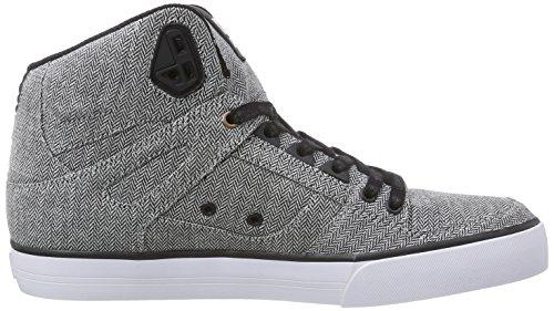 DC ShoesSPARTAN HIGH WC M SHOE - Zapatillas hombre gris - Grau (Grey/Grey/Black XSSK)