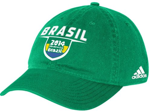 Brazil Adidas 2014 FIFA World Cup Adjustable Slouch (Adidas Brazil)