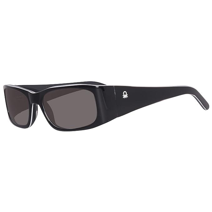 United Colors of Benetton BE64503 Gafas de Sol, Black/Grey ...