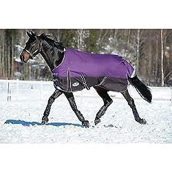 "Weatherbeeta Comfitec Plus Dynamic Standard Neck Lite Purple/Black 69"""