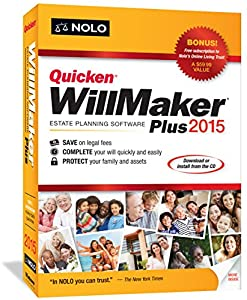 NOLO Quicken WillMaker Plus 2015 : Nicely done  Easy to revise