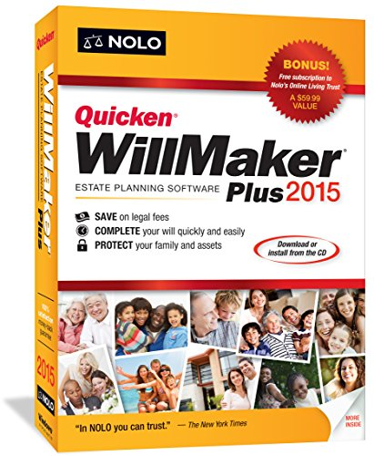 Quicken WillMaker Plus 2015 (Quicken For Xp)