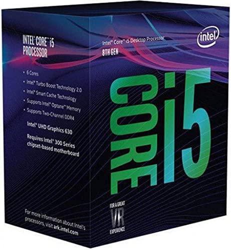 Intel Core i5-8600K Desktop Processor 6 Cores as much as 4.3 GHz Unlocked LGA 1151 300 Series 95W