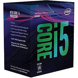 Intel Core I5-8600K 3.60Ghz Socket LGA1151 Cache 9 MB Processor, BX80684I58600K