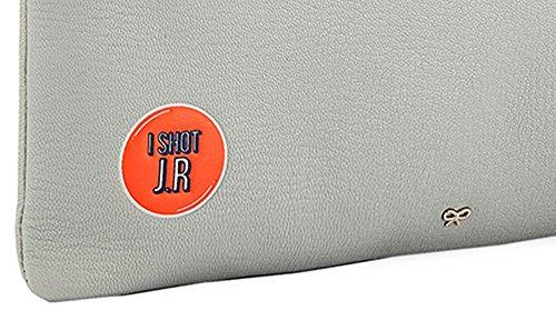 Shot Tassel Bag JR Leather Clutch Hindmarch