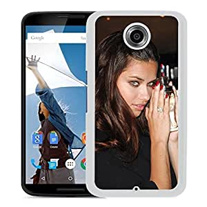 Beautiful Girl Cover Case For Google Nexus 6 With Adriana Lima Girl Mobile Wallpaper(93) Phone Case
