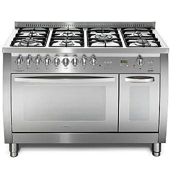 Lofra CSD126GV+E/2Ci - Cocina (Cocina independiente, Acero ...
