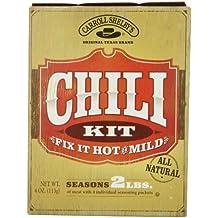 Carroll Shelby's Original Texas Chili Kit, 4 oz