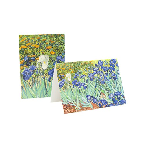 Getty Museum | Note Cards Set with Keepsake Box featuring details of Van Gogh's (Flower Box Keepsake Set)