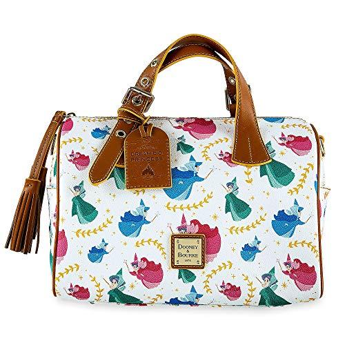 Disney Dooney & Bourke Sleeping Beauty Satchel - Flora Fauna Merryweather (Dooney And Bourke Double Strap Tassel Bag)