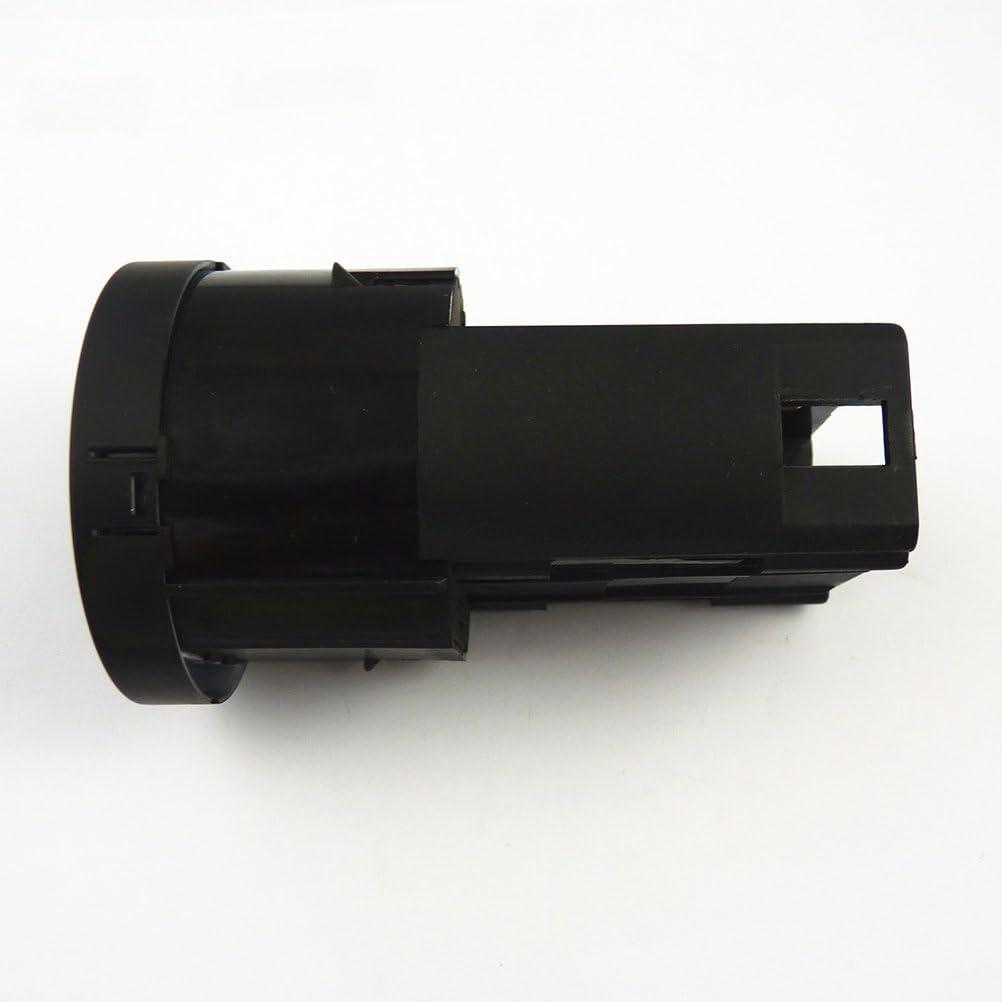 WINOMO die Kfz-Nebelscheinwerfer Schalter f/ür Audi A4/Audi B6/ schwarz