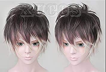 Amazon.com: Diabolik Lovers Mukami Ruki Gradient Wig Fashion Hair Cosplay Wigs: Beauty