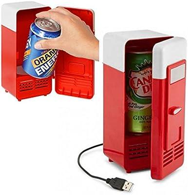 Tenflyer Latas Mini USB Enfriador Nevera bebida de la bebida del ...