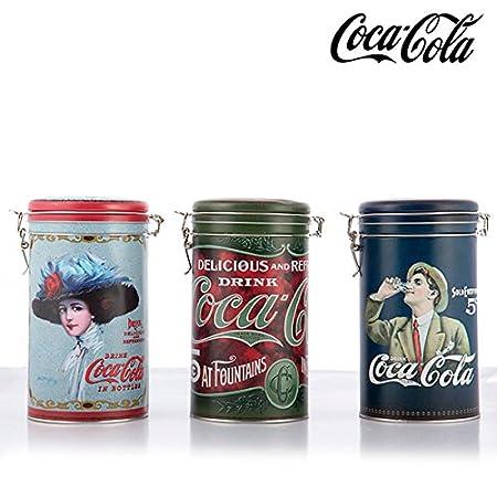 Barattolo Vintage in Metallo Coca-Cola 1000035154