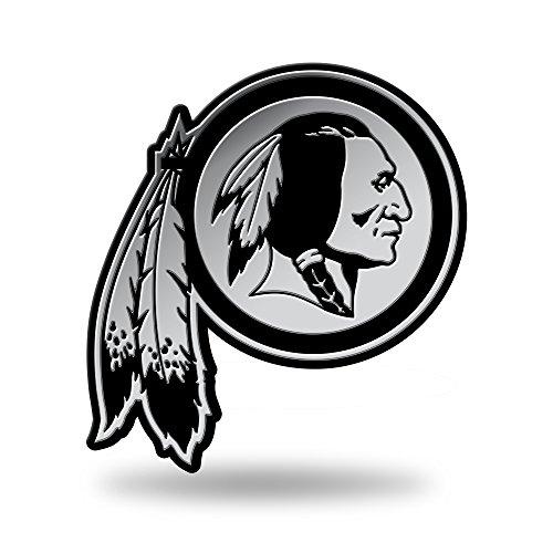 NFL Washington Redskins Molded Auto Emblem Redskin Decal