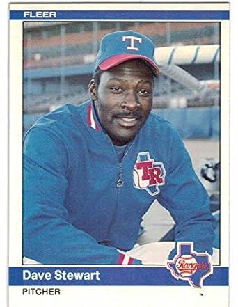 Amazoncom 1984 Fleer Texas Rangers Team Set With Dave