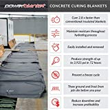 Powerblanket MD0520 Heated Concrete Blanket, 5' x