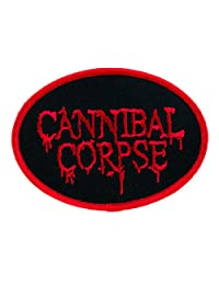 Cannibal Corpse Patch Iron on Applique Butchered at Birth Heavy Death Metal Clothing