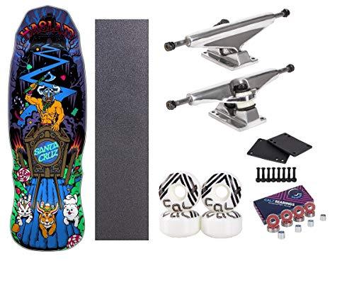 Santa Cruz 9.9 Inch Haslam Snack Warrior Complete Skateboard Setup (Best Cheap Skateboard Setup)