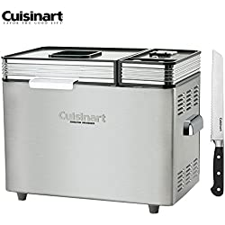 """Cuisinart CBK-200FR Convection Automatic Bread Maker - (Certified Refurbished) w/FREE 8"""" Bread Knife"""