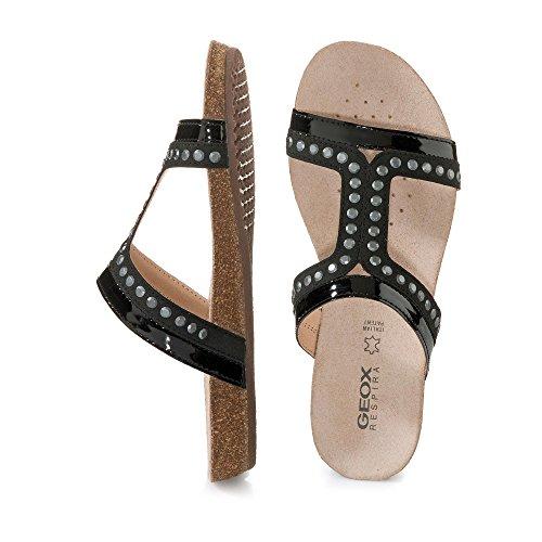 Sandalias y chanclas para mujer, color Negro , marca GEOX, modelo Sandalias Y Chanclas Para Mujer GEOX D VINCA B Negro Black - Black