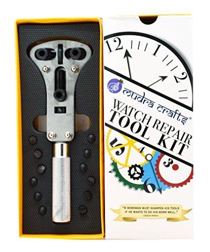 印相Crafts Watchレンチ修復ツールスクリューバックOpener for防水Watches B01IRX2SSS