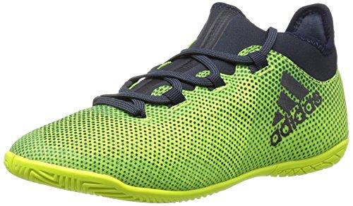 adidas Originals Boys' X Tango 17.3 in J Soccer Shoe, Solar Yellow/Legend Ink/Solar Yellow, 11 Medium US Little - Legend 11