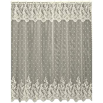 85off Heritage Lace Sand Shell Shower Curtain And Valance Set 72